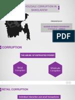 Wholesale corruption in bangladesh