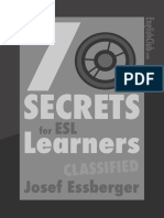 7 Secrets for Esl Learners