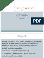Kontrol Geologi