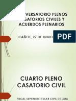 4651 Cuarto Pleno Casatorio Civil