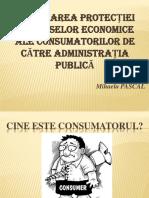 Asigurarea protecției intereselor economicee ale consumatorilor