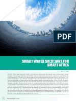 Smart Water Solutions for Smart Cities by R v Singh- Water Digest Magazine
