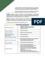 Organgramas y Funciones MINEM Y OTROS