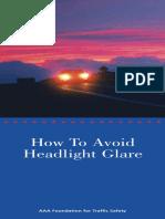 Headlight Glare Brochure
