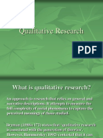 4- Qualitative Research