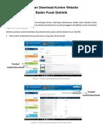 Panduan Download BPS