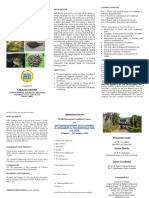 Brochure CIEF Couse - Ornamental Fish Breeding & Culture, Jan - Feb, 2015