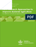 New Research Approaches to Improve Drylands Agriculture