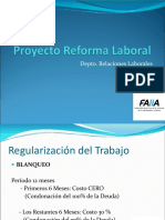 Proyecto Reforma Laboral FAIIA 1