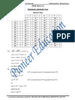 NTSE SAT Solutions 2013-14(1)