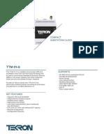 TTM-01-G-Datasheet