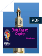 Shafts , Keys and Coupling _ Slides
