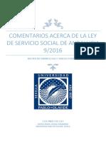 Crítica a La Ley de Servicio Social de Andalucia