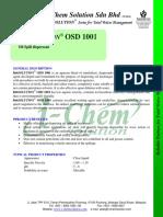 OSD 1001 PDS - I-Chem