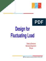 Design Against Fluctuating Load_ Slides