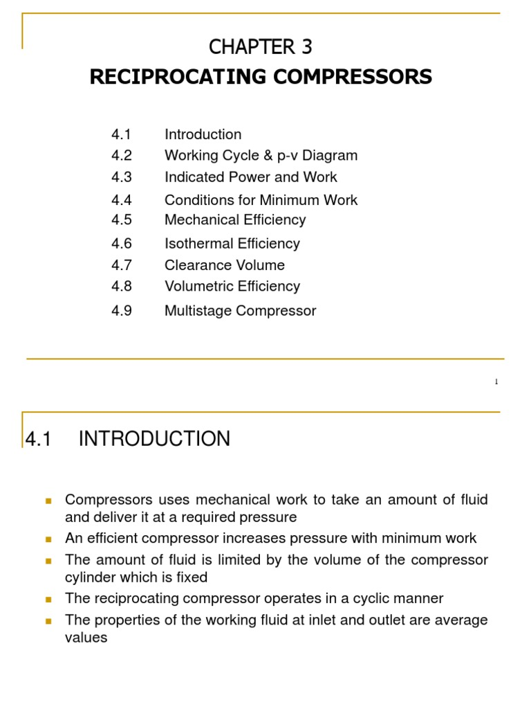 Ch3 - Compressors | Rotating Machines | Propulsion