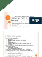 Aspectos Conceptuales Sobre La Violencia de Género2