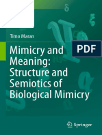 Maran, Timo (Auth.) (2017) Mimicry and Meaning. Structure and Semiotics of Biological Mimicry