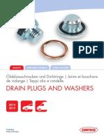 Corteco Drain Plugs and Washers Catalogue Corteco