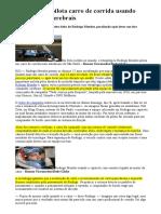 Tetraplégico Pilota Carro de Corrida Usando Comandos Cerebrais