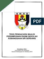 Teks Pengacara Majlis Perhimpunan Skss