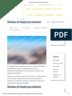 Sistemas de Fixação Para Balancim _ Multiequip
