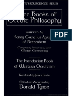 Three Books of Occult Philosophy - Copy
