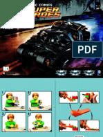 Lego Tumbler 76023 - Part 1