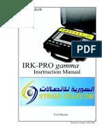IRK-PRO_gamma_instruction_manual Original v4 Damascus - A4 - Normal