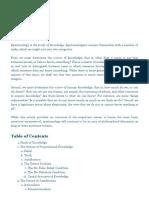 Epistemology _ Internet Encyclopedia of Philosophy