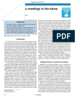 Annual scientific meetings in the future.pdf