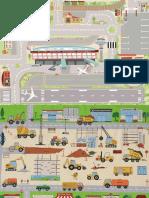 Airport Playmat