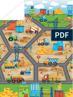 Construction Site Playmat