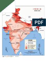Seismic Zoning Map of India-1