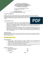 Course Outline Act4647- Sem 3-2016