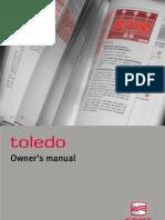 Toledo Owner s Manual