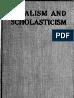 Vitalism and Scholasticism