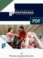 EBD lição 15