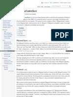 Wiki Wiegand Interface