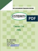 Estidama Training Programs 2016