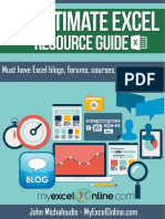 The Ultimate Excel Resource Guide v1