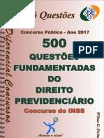 Direito Previdenciário-concurso Inss - Apostila Amostra