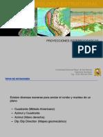 CAPITULO II Proyecciones Estereograficas