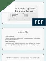 Kel Merpati_Analisa Struktur Organisasi Laboratorium Pramita