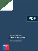 Fondart Regional Difusion 2017