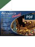 Cartel Horario Autobuses Gratuitos Navidad - Centro Comercial de Antequera