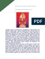 Encyclopedia of Sri Lalitha TripuraSundari
