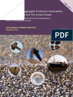 2016-2017 Annual Report BMAPA Protocol for Reporting Archaeological Finds
