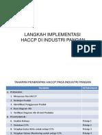 TAHAPAN HACCP