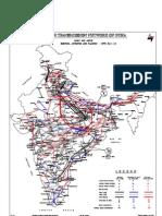 Powergrid - Major Transmission Map of India